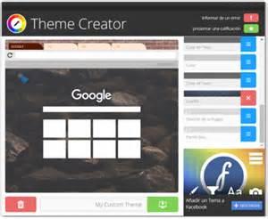 blog theme creator c 243 mo personalizar la apariencia de google chrome