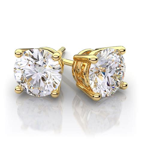 Ohrringe Diamant by Gold Earrings For Just Fashion