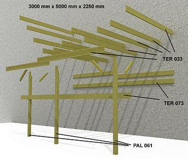 Comment Construire Un Carport Plan by Fabrication D Un Carport Bois
