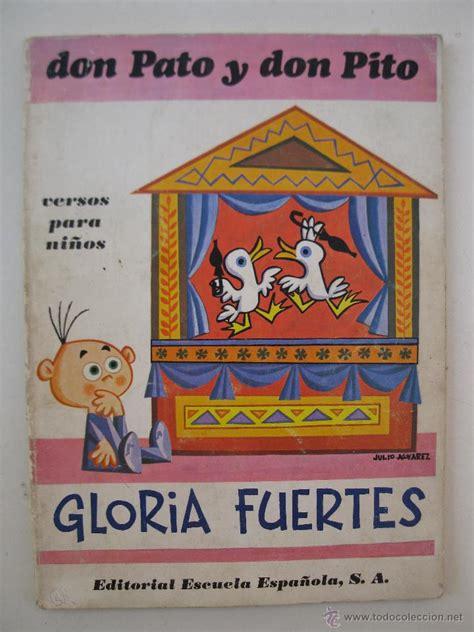 versos fritos gloria fuertes comprar el libro apexwallpapers com don pato y don pito versos para ni 241 os glori comprar
