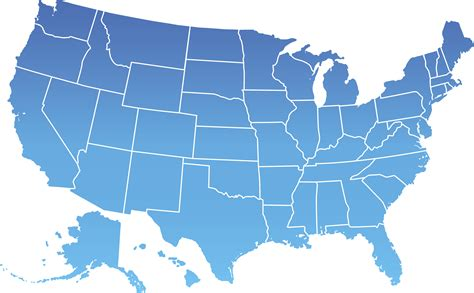 map of united states showing state lines map of the united states with state lines 47 images