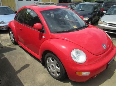 volkswagen new beetle red 2000 volkswagen new beetle gls in fredericksburg va