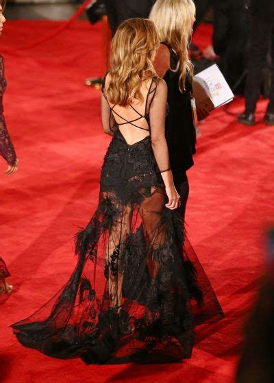 Catwalk To Carpet Danni Minogue by Logies 2016 Carpet