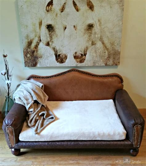 redo   inspirations   diy leather dog sofa  giveaway