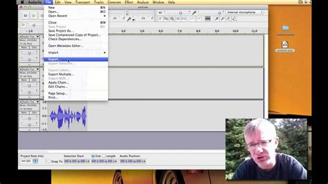 tutorial youtube audacity audacity tutorial how to save audacity project fix a file