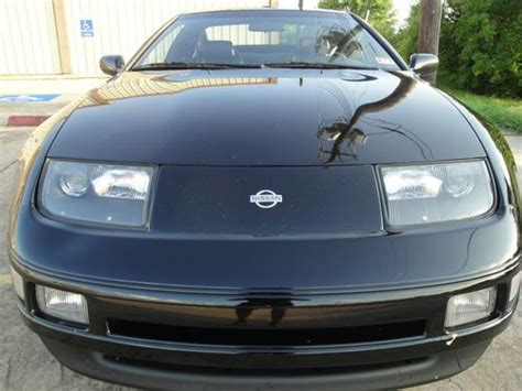 1995 nissan 300zx 2 2 sell used 1995 nissan 300zx 2 2 n a black on black in