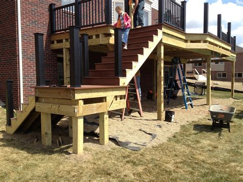 composite deck construction composite deck construction in michigan