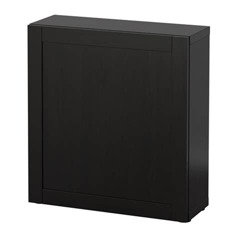 besta shelf unit with door best 197 shelf unit with door hanviken black brown 23 5