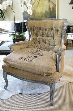 1000 ideas about burlap chair on chair