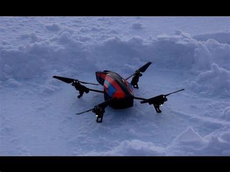 Ar Drone 2 0 Flight ar drone 2 0 snow test flight