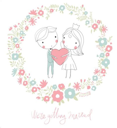 Wedding Card Eps by Wedding Card Vector 06 Vector Card Free