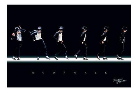 Home Decor Frames by Michael Jackson Moonwalk Stances Poster