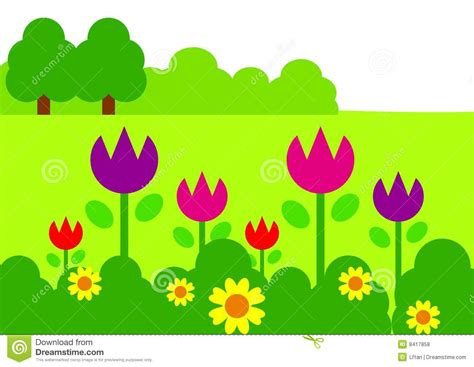 garden clip borders clipart panda free clipart images