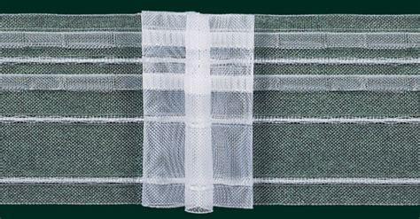 gardinen faltenband gardinenband faltenband 80mm volltransparent 5er falte 1 2