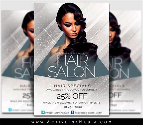 Upscale Hair Salon Stylist Flyer Template Active Ink Media Hair Stylist Flyer Templates