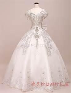full rhinestone beading princess medieval ball gown