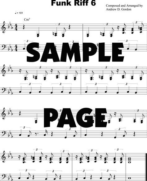 tutorial piano funk funk piano keyboard lessons digital sheet music downloads