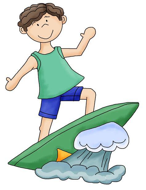 surfing clipart surfer boy clipart
