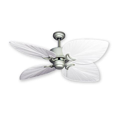 nickel ceiling fan with white blades brushed nickel ceiling fan with white blades atcsagacity com