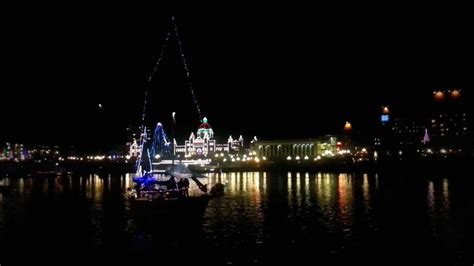 boat r fees victoria victoria bc christmas boat light parade 2012 youtube