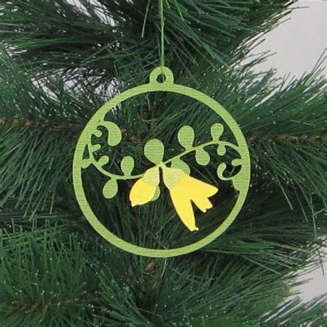 kiwi christmas decoration felt