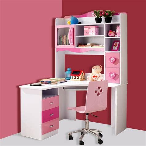 Child Corner Desk Children S Furniture Princess Corner Computer Desk Desk Bookcase Child Bookcase