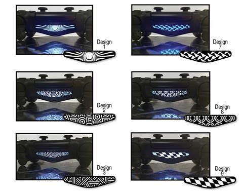 ps4 skins wraps decals to buy tagged quot football ps4 dualshock 4 light bar decals your sign here technabob