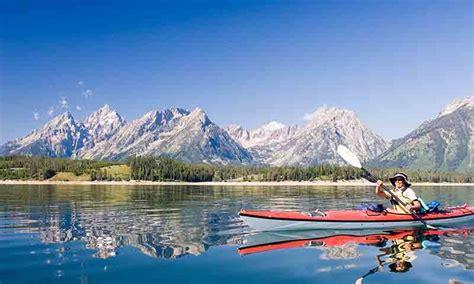 grand teton national park kayak canoe  rentals tours kayaking paddleboarding alltrips