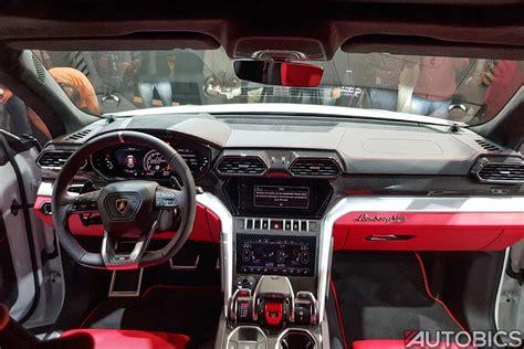 suv lamborghini interior 2019 lamborghini urus dashboard interior autobics