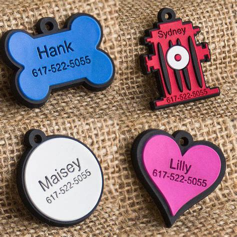 silent tags image gallery pet tags