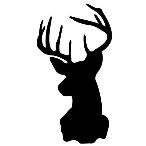 printable stencils deer deer head stencil