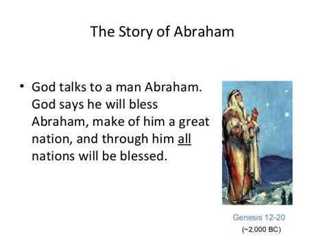 the story of the story of abraham