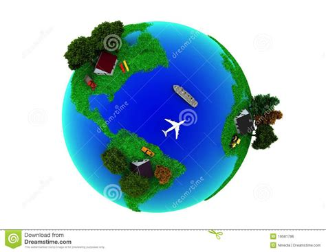 healthy earth green healthy earth stock illustration image of green