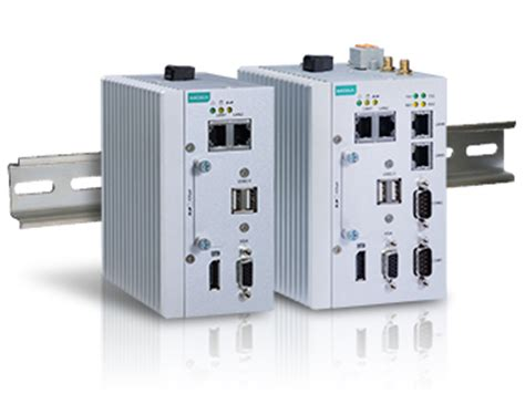 rugged plc rugged din rail mc 1100 computers for industrial automation moxa