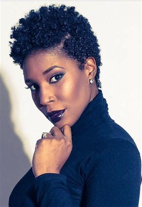 tapered natural hairstyles for black women nice tapered cut http www shorthaircutsforblackwomen com