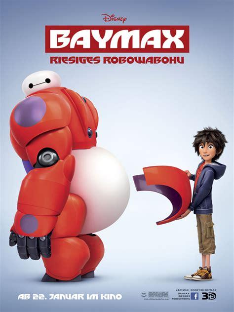 film robot baymax poster zum baymax riesiges robowabohu bild 2