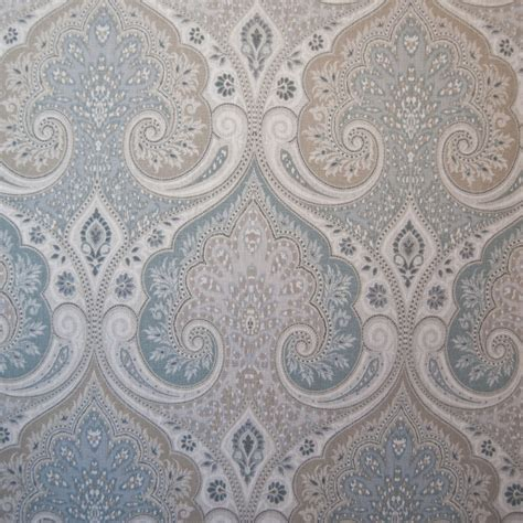 Home Decor Material | or122 contemporary country damask by the yard upholstery