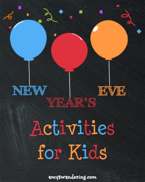 new year activities for new year s activities for s wandering