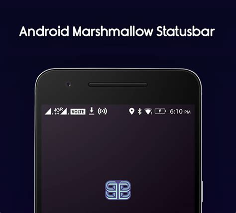 status bar android android marshmallow icons statusbar free psd freebiesui