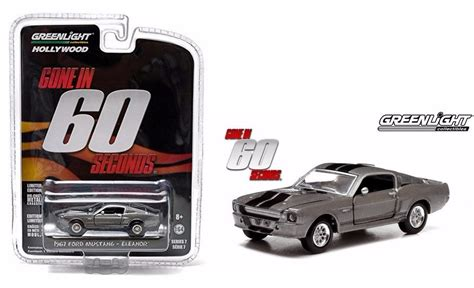 Greenlight 1 24 Eleanor 67 Custom Mustang el333 1 64 ford mustang 67 eleanor 60 segundos greenlight