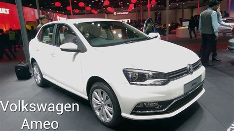 volkswagen ameo colours volkswagen ameo compact sedan first look at auto expo 2016
