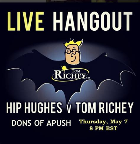tom hughes compass hip hughes vs tom richey ap review on a google hangout