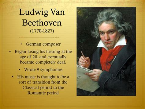 biography of beethoven the composer music history and composer study ppt video online download