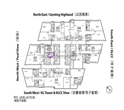 Dua Residency Floor Plan Star Residences Rt2 Property Exchange