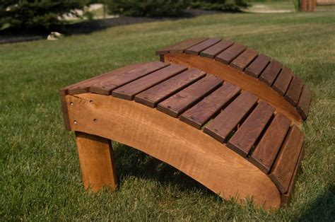 Adirondack Chair Ottoman Plans Adirondack Foot Stool By Rosebud Lumberjocks Woodworking Community