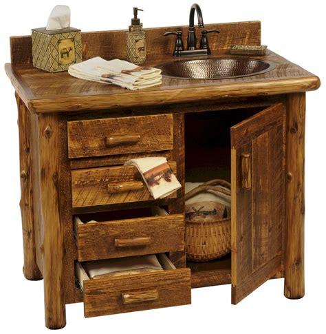 Rustic Bathroom Vanities For Sale by 25 Rustic Style Ideas With Rustic Bathroom Vanities