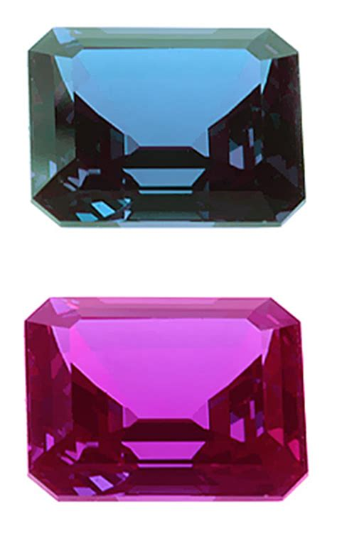 alexandrite vs yag synthetic minerals