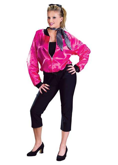 adult 50s costumes mens and womens 50s costume ideas 50s rock n roll pink women jacket costume dancewear costumes