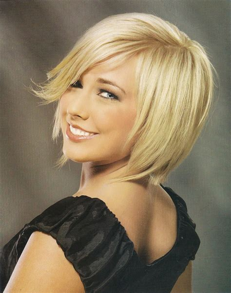 Chin Length Blonde Haircuts | chin length hairstyles beautiful hairstyles