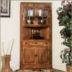 Corner Kitchen Hutch Cabinet Kitchen Corner Hutch Cabinets Home Design Ideas